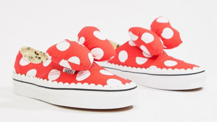 Disney x Vans Authentic Gore Red 08