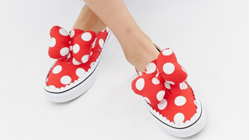 903f3449b24 Disney x Vans Authentic Gore Red 09