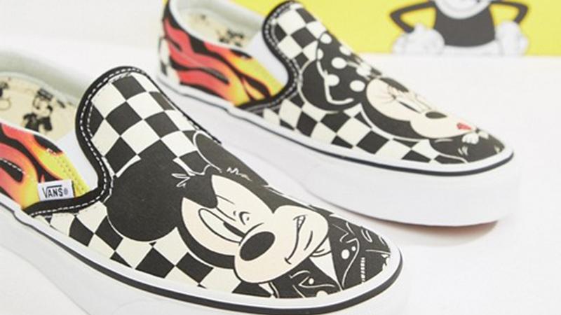 Disney x Vans Classic Slip Mickey 03