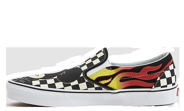 Disney x Vans Classic Slip Mickey