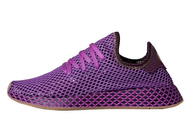 Dragon Ball Z x adidas Deerupt Cell Saga Pack Purple