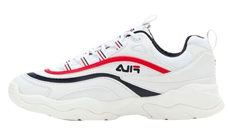 FILA Ray White Red Blue
