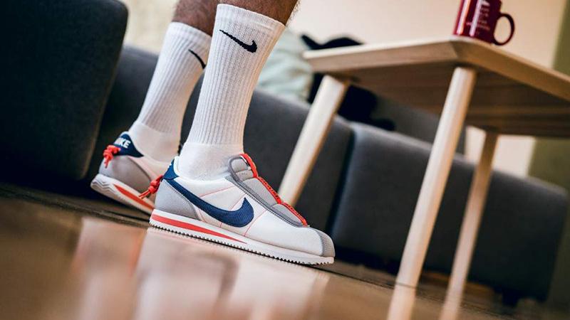 huge discount 1926f e395e Kendrick Lamar x Nike Cortez Basic Slip White   AV2950-100