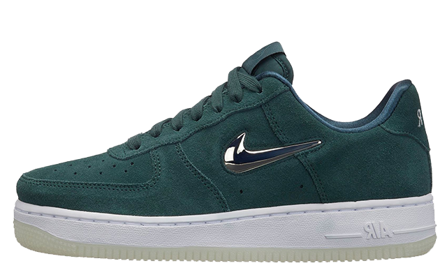 save off 2f598 9d3d2 ... Green Silver Womens is available to buy now via our list of retailers.  Make sure to stay tuned to The Sole Womens for more exciting Air Force 1  updates.