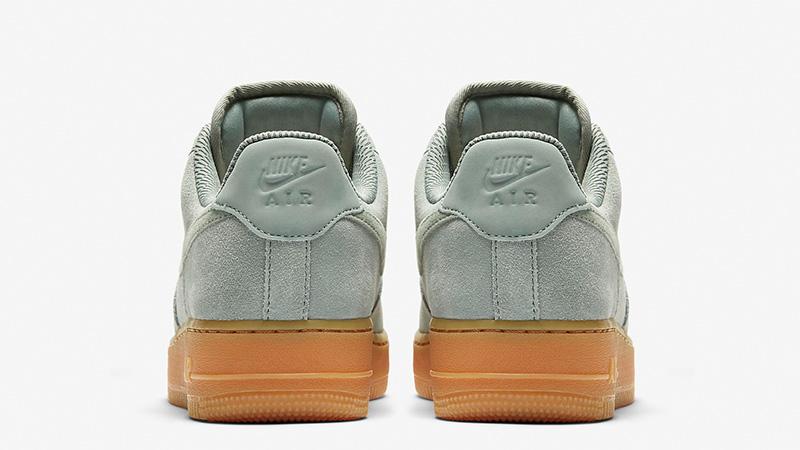 52e857d243e Nike Air Force 1 07 SE Mica Green AA0287-301 01