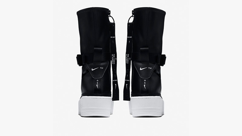 best sneakers eb01c 982c7 Nike Air Force 1 Sage High Black AQ2771-001 01