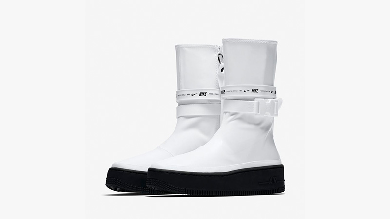 on sale 627bd 962f1 Nike Air Fo. Nike Air Force 1 Sage High White ...