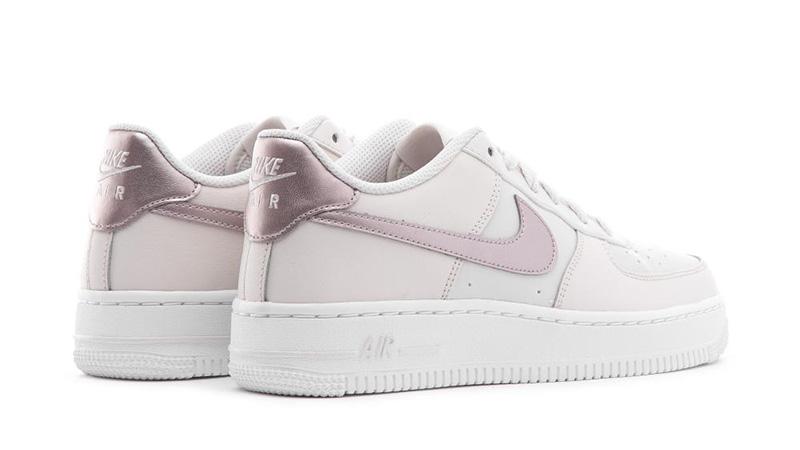 Nike Air Force 1 Metallic White Pink