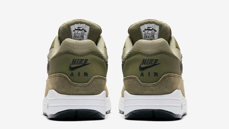 Nike Air Max 1 Olive White Womens 319986-304 01 thumbnail image