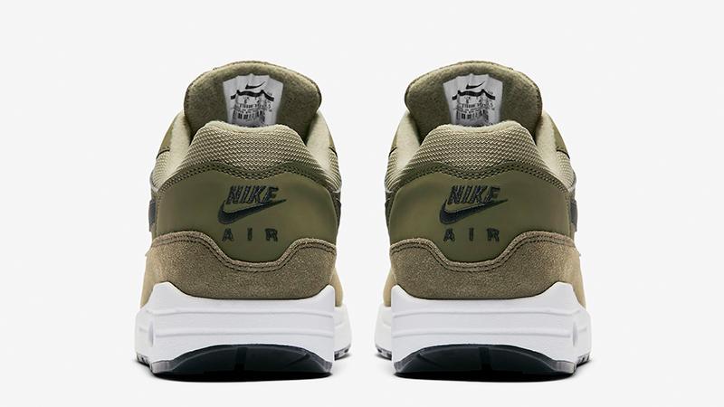 Nike Air Max 1 Olive White Womens 319986-304 01