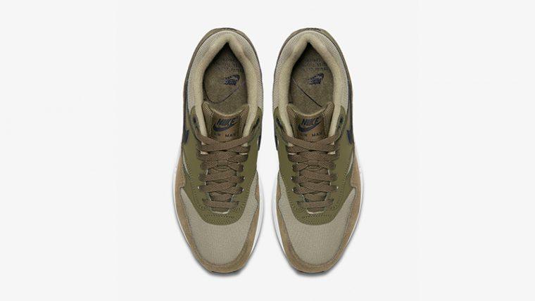 Nike Air Max 1 Olive White Womens 319986-304 02 thumbnail image