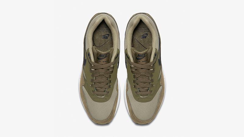 Nike Air Max 1 Olive White Womens 319986-304 02