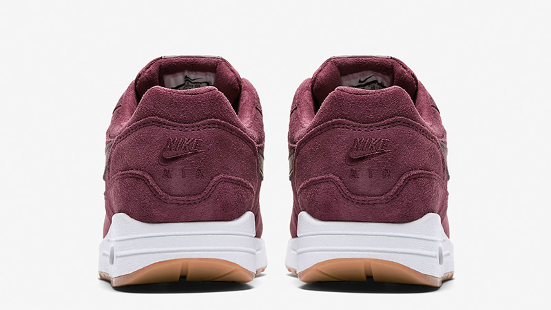 55f1d28f7874c4 Nike Air Max 1 SE Burgundy Womens BV0313-600 01
