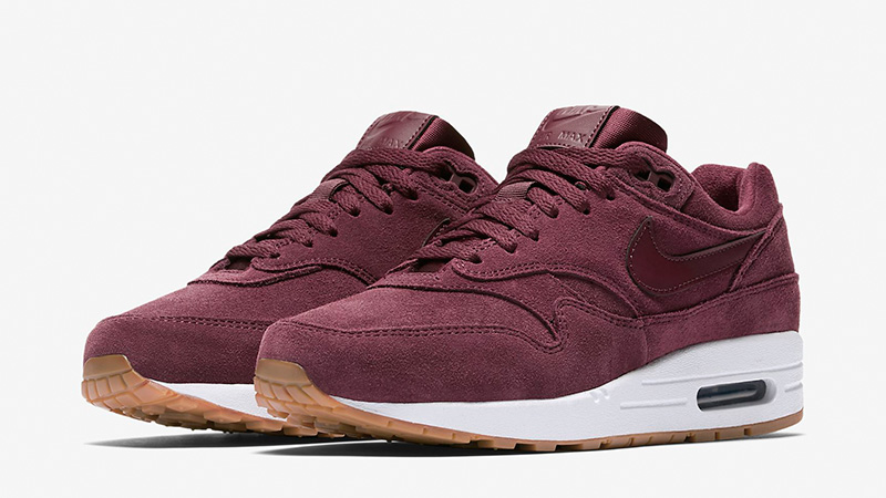 cd6a1eaca4f1d9 Nike Air Max 1 SE Burgundy Womens BV0313-600 03