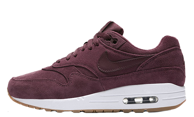 premium selection 1d893 42dbd Nike Air Max 1 SE Burgundy Womens   BV0313-600