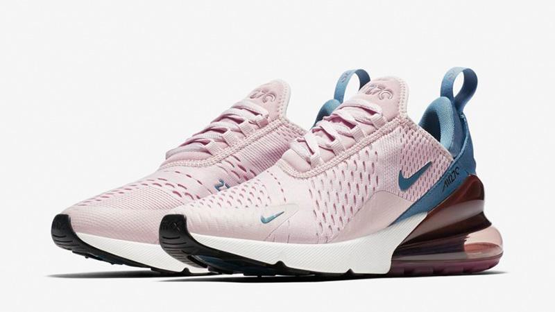 super popular 16d9c 610d4 Nike Air Max 270 Pink Teal | AH6789-602
