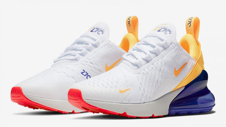 Ammco bus : Nike air max 270 womens orange and white