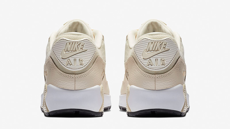 83ae6966c62951 Nike Air Max 90 Cream Sail Womens 325213-213 01