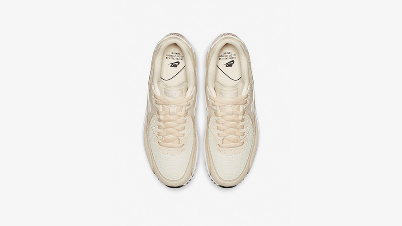 c7f600124c007d Nike Air Max 90 Cream Sail Womens 325213-213 02