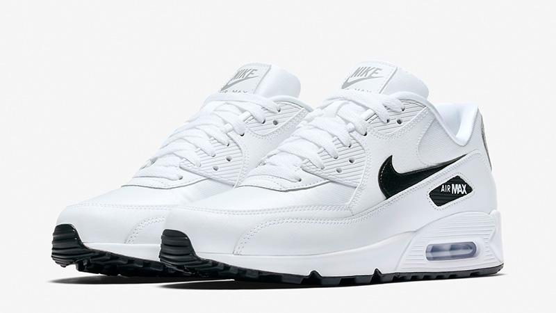 fc2010ad32bf Nike Air Max 90 White Silver Womens 325213-137 03