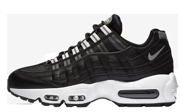 Nouveaux produits c3da7 9926a Nike Air Max 95 OG Black Canvas | 307960-020