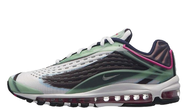 ca12053d8e The Nike Air Max Deluxe Enamel Green is available now, so head to the links  above to shop your pair today! Don't forget to #thesolewomens on your in  hand/on ...