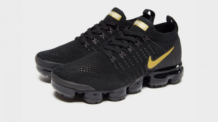"promo code e7b50 cfeba Nike Air VaporMax Flyknit 2 Black ""Metallic Pack"" | 942843-012"