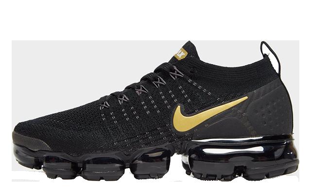 "promo code 85ada 45328 Nike Air VaporMax Flyknit 2 Black ""Metallic Pack"" | 942843-012"