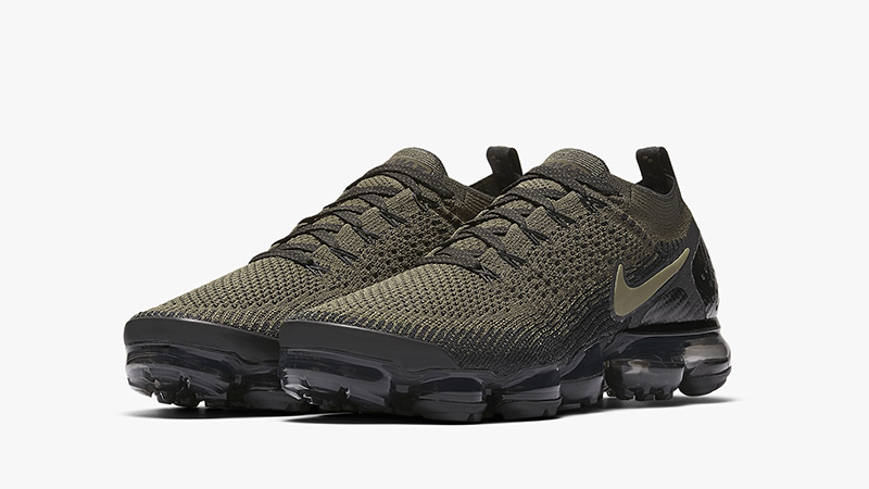 c89cec500b Nike Air VaporMax Flyknit 2 Cargo Khaki | AV7973-300 | The Sole Womens