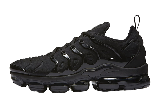 detailed look 28b0e 339b1 Nike Air VaporMax Plus Triple Black | 924453-004