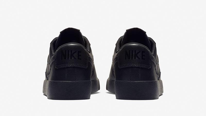 53b8b9cd003f Nike Blazer Low LE Black Womens AV9370-002 01