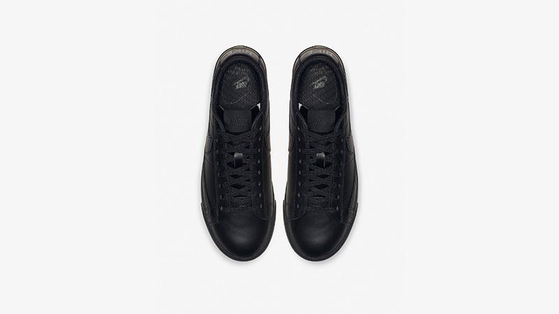 Nike Blazer Low LE Black Womens AV9370-002 02