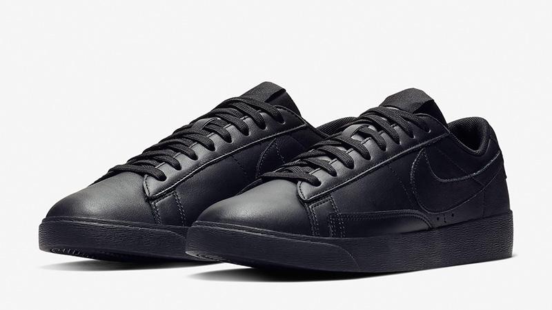 Nike Blazer Low LE Black Womens AV9370-002 03