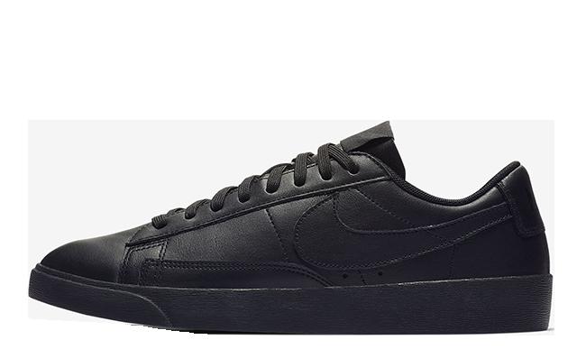Nike Blazer Low LE Black Womens AV9370-002