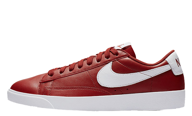 separation shoes b6add f2b42 The Nike Blazer Low LE Red White Womens is available to buy now, so head to  the links above to shop your pair today. Be sure to  thesolewomens on your  in ...