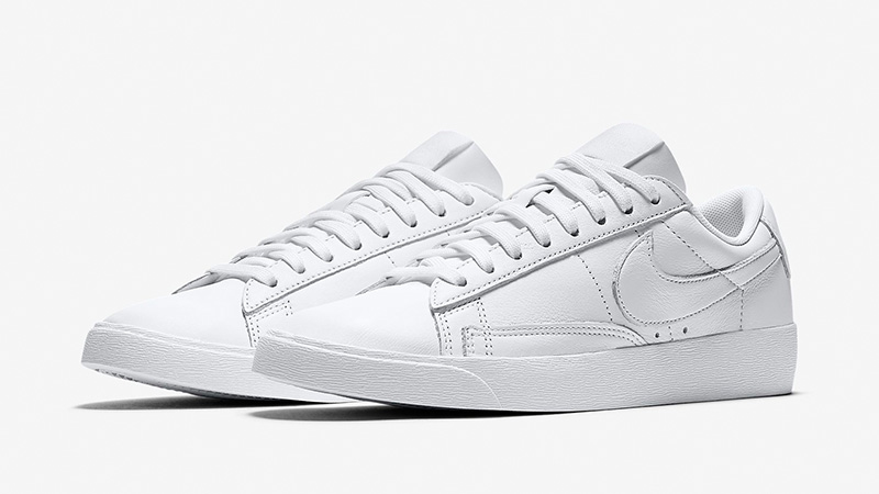 pretty nice bcbb7 d274b Nike Blazer Low LE White Womens | AV9370-111