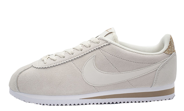 official photos 653fe f4954 Nike Classic Cortez Premium Beige Womens | AR5696-003