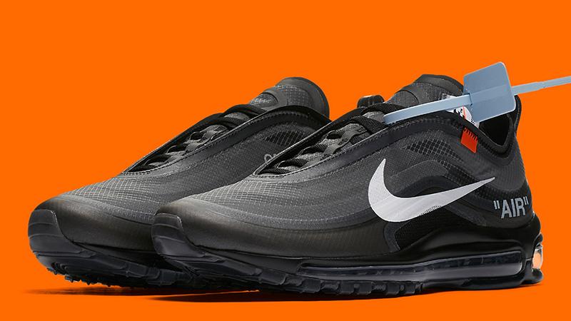 best service 07599 d51df Off-White x Nike Air Max 97 Black | AJ4585-001