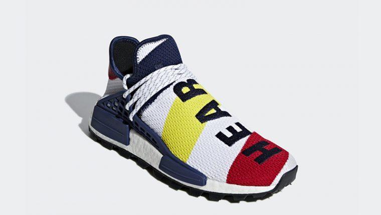 info for aa17f 95a15 Pharrell Williams x adidas NMD Hu BBC Scarlet Multi | BB9544