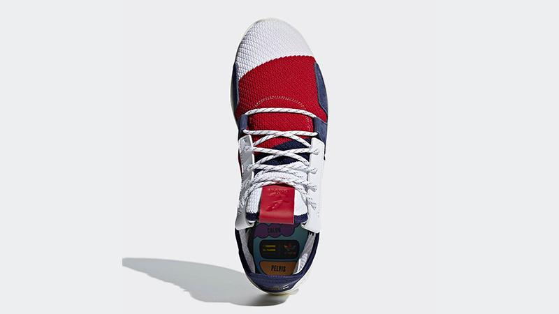 a45c507cf822e Pharrell Williams x adidas Tennis Hu BBC Scarlet Multi