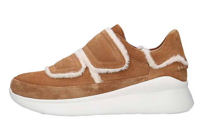 UGG Ashby Spill Seam Suede Brown | The