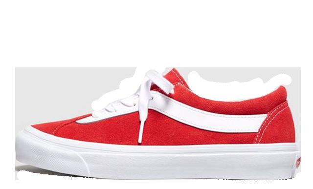 Vans Bold Ni Red Womens