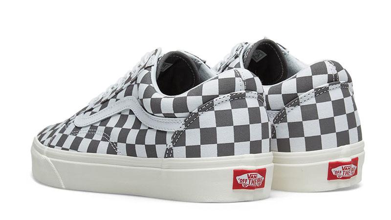 Vans Old Skool Checkerboard Grey 01
