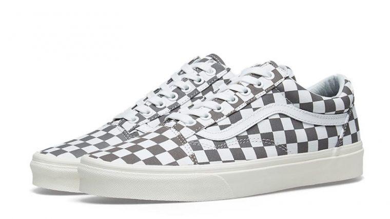 Vans Old Skool Checkerboard Grey 03 thumbnail image