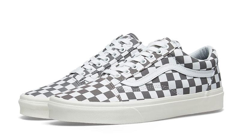 Vans Old Skool Checkerboard Grey 03