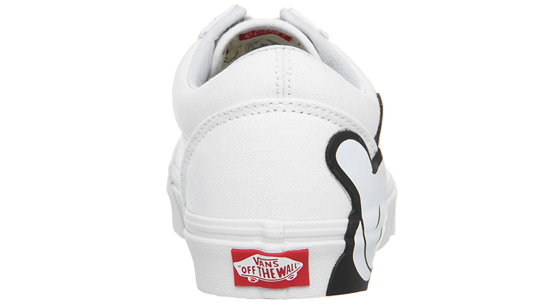 Vans Old Skool Disney Mickey White 01