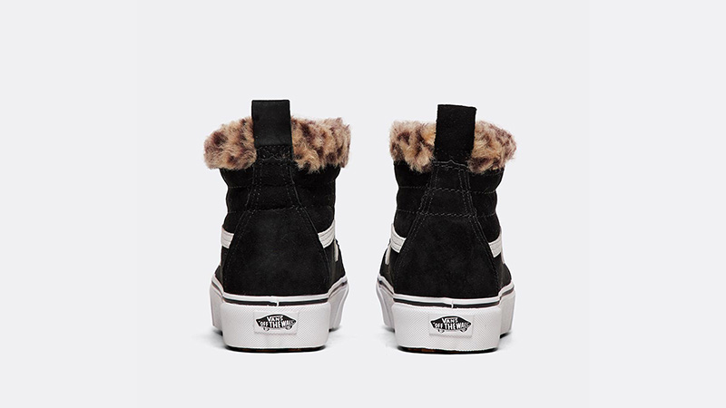 famous brand really cheap top-rated discount Vans SK8-Hi MTE Platform Black Leopard Womens