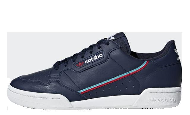 adidas Continental 80 Navy B41670s