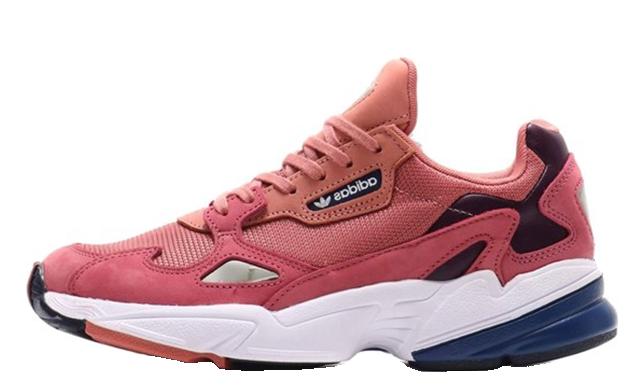 adidas Falcon Pink White Womens D96700