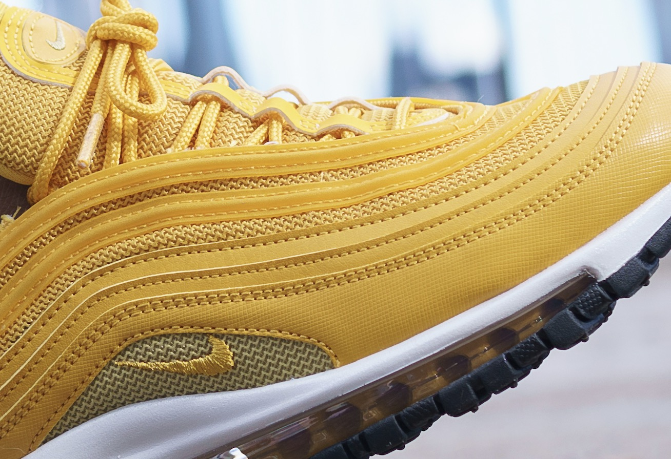 An Exclusive On Foot Look At The Mustard Nike Air Max 97